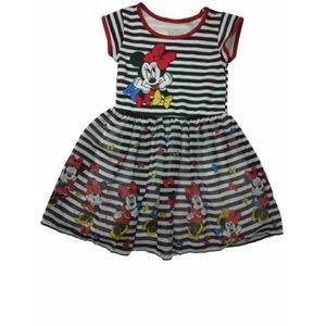 NWT Disney Minnie Mouse Little Girls Dress 7/8